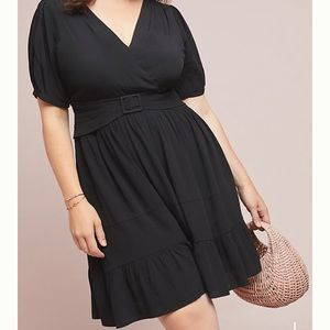 BRAND NEW Anthropologie Plus Martina Belted Dress!